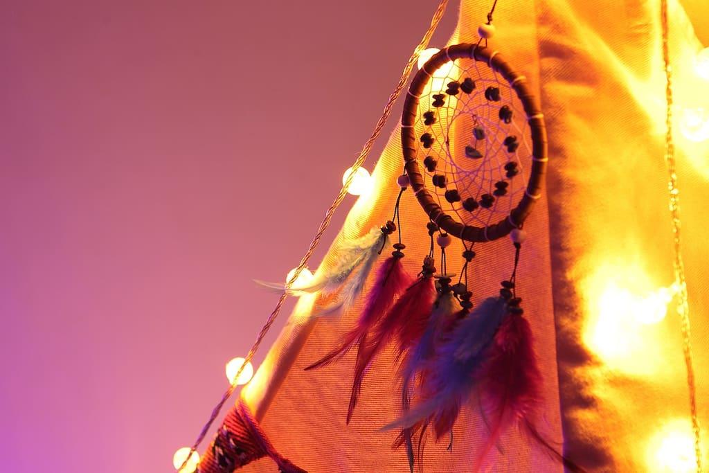 铺梦网,是一种印第安的传统饰品