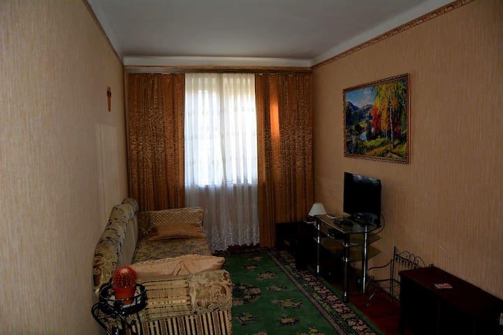 Двухкомнатная квартира в центре Гагры