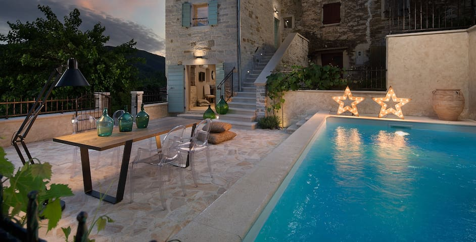 Casa Gradinje with swimming pool - Livade - Casa