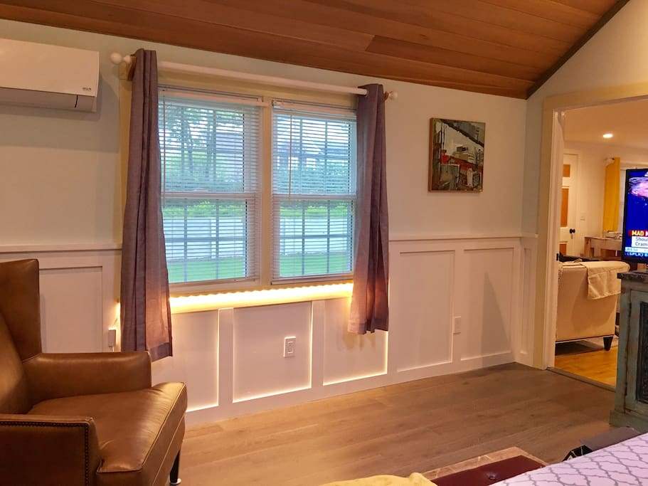 Special lighting in Master Bedroom