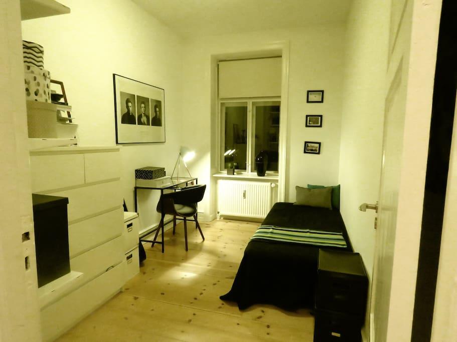 Room (in evening lighting)
