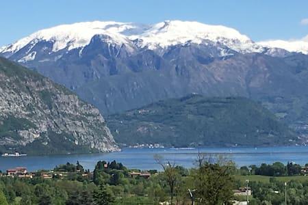 Appartamento vista Lago d'Iseo - Colombaro