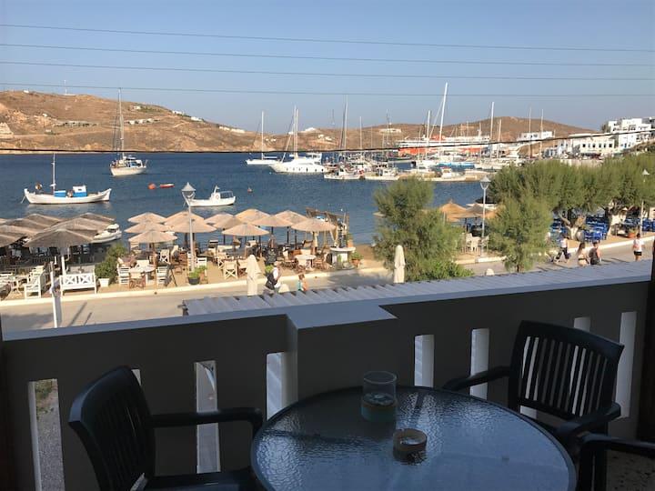Akti apartment with sea view
