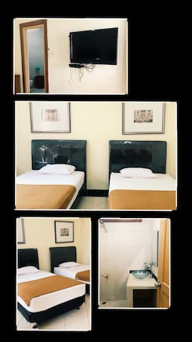 Private Room. Cheap Room.Central Jakarta. For Two