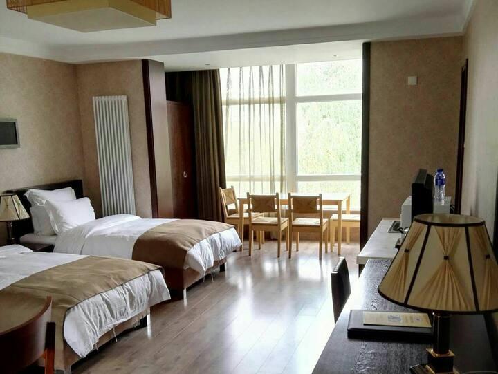 容辰国际小区舒适且巨大的高品质酒店式公寓