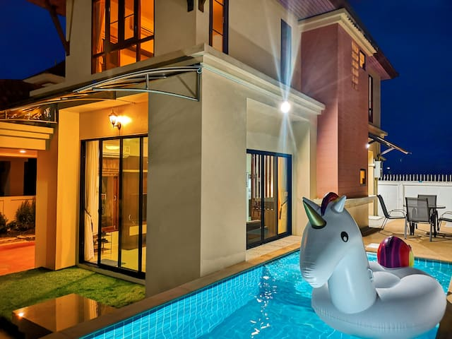 ❤️AoNang⭐Sea Eagle with private pool☀8min to beach