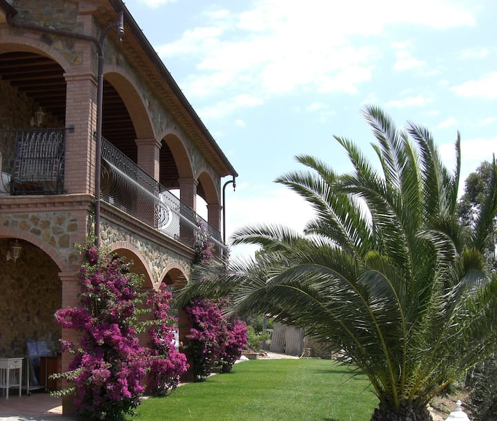A pearl in Grosseto - in the green of the Maremma