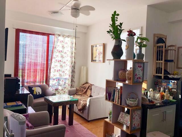 Cozy Minimalist Studio Apartment in Quezon City
