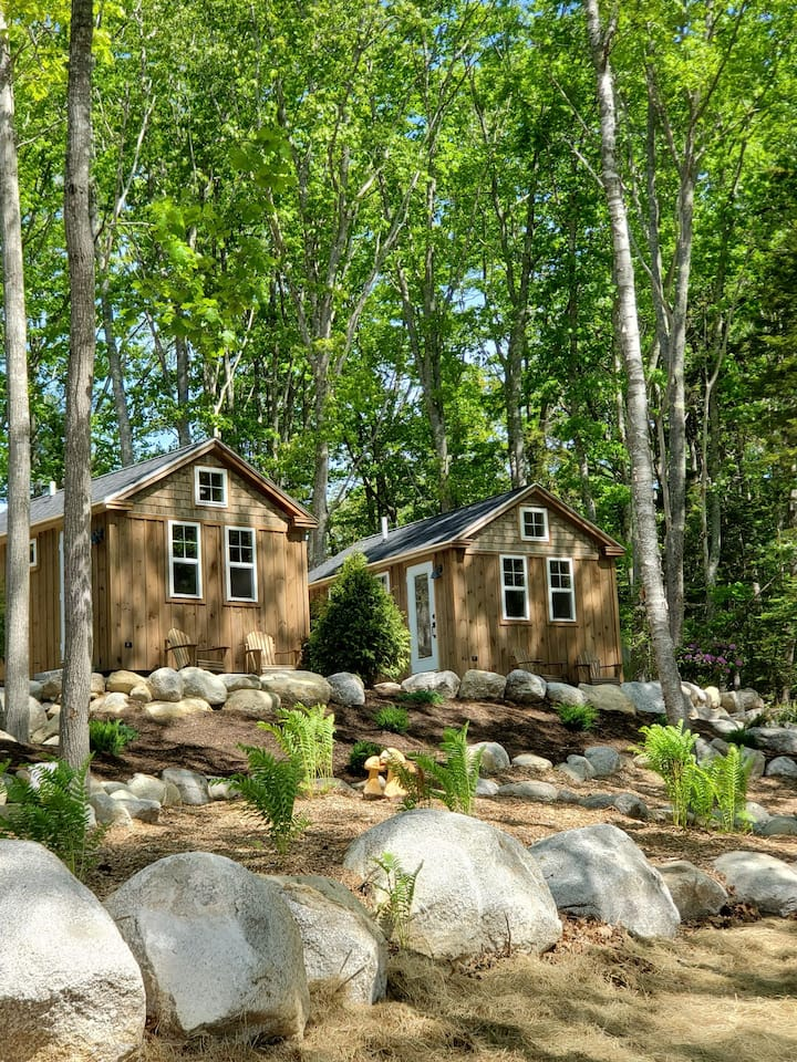 Steamboat Crossing Cabins: #5 Spruce Cabin