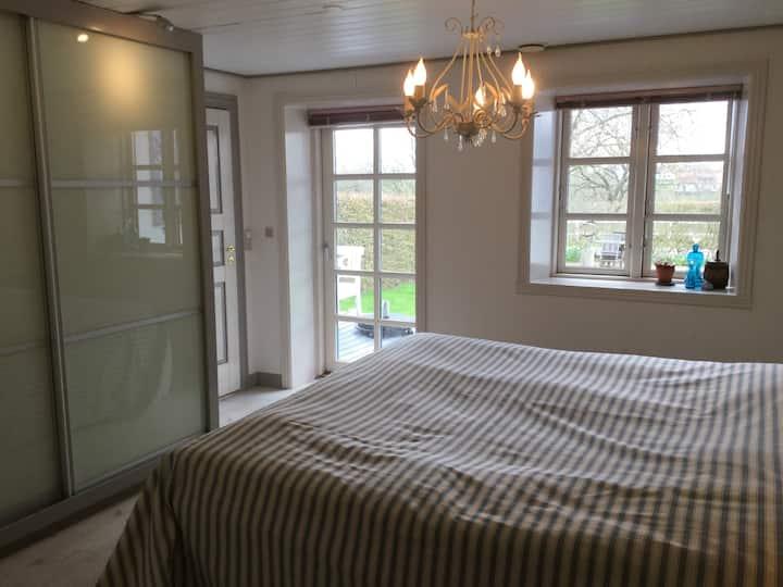 Luksus dobbelværelse med privat badeværelse.