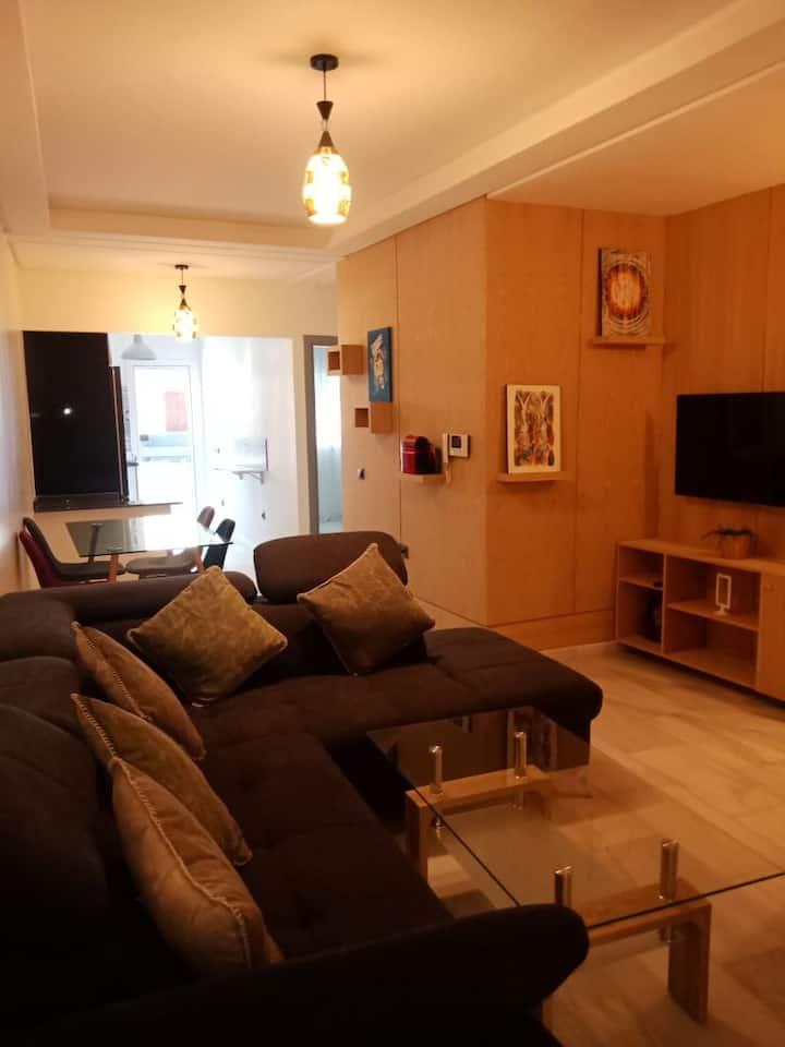 Appartement cosy à Rabat