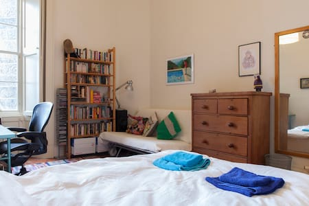 Spacious double bedroom in New Town apartment