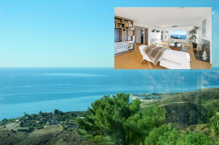 Malibu Secluded Escape Ocean View Zen House