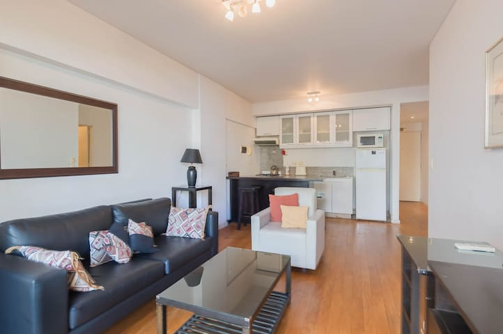 Aguero & Santa Fe - Peaceful 1BR apt in Recoleta