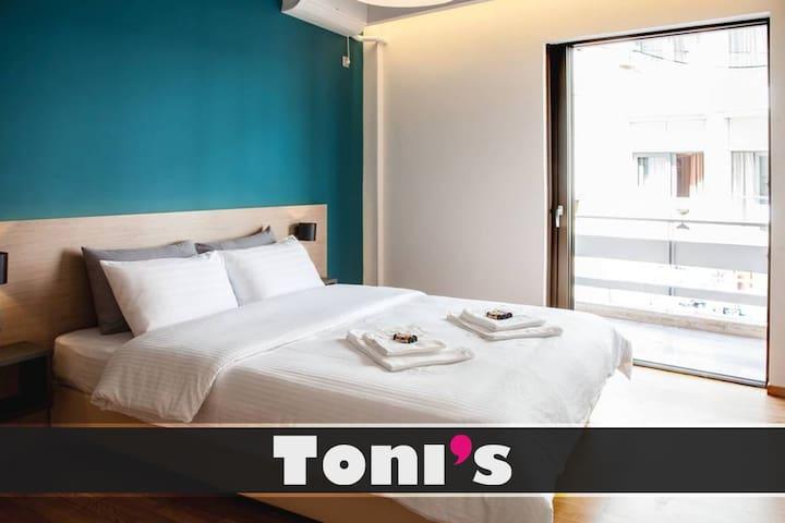 Toni's - Cosy Apartment next to Acropolis