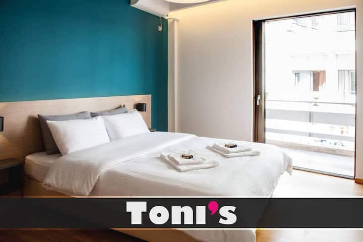 Toni's - Cosy Apartment next to Acropolis