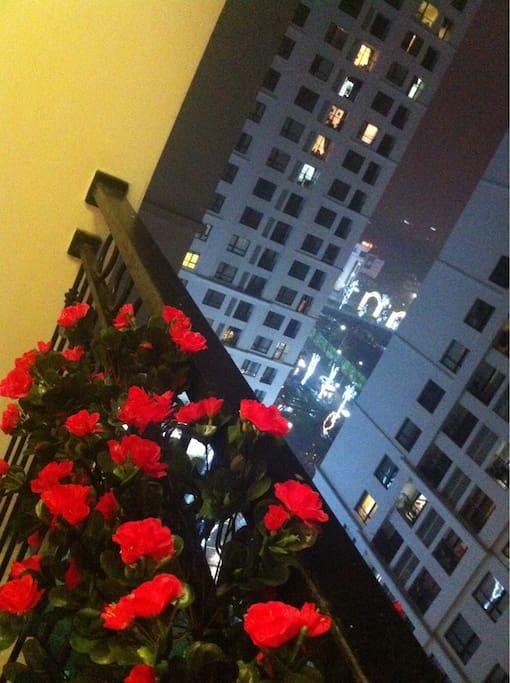 Balcon of apartment