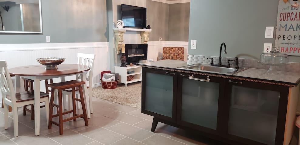 The KiwiHouse (a full basement apartment)