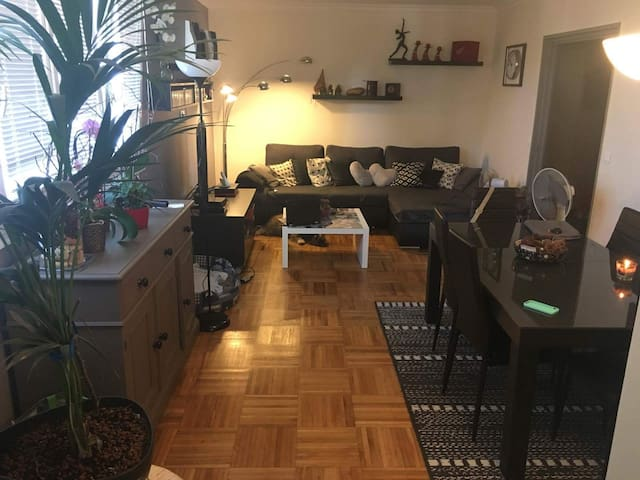 Bel appartement à 20min de Paris