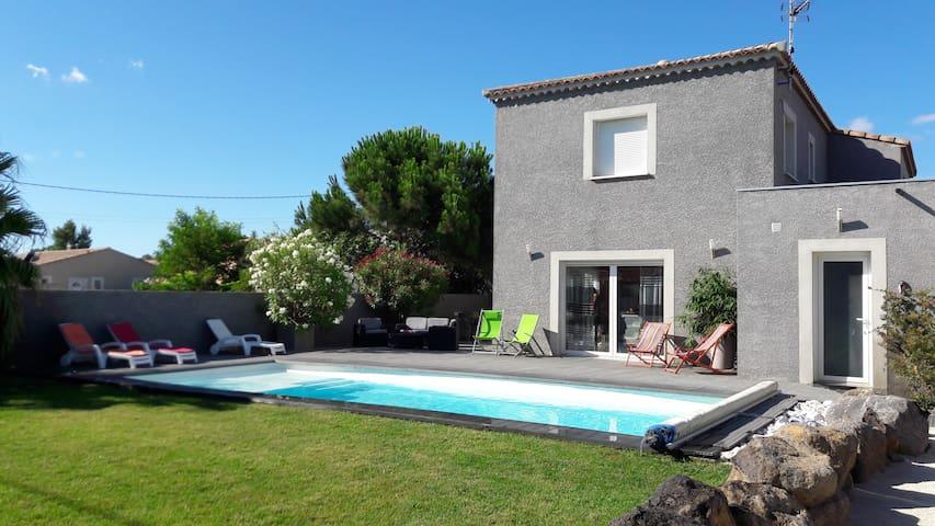 """Villa-Cap d'Agde """"Le Petit Mousse"""""""