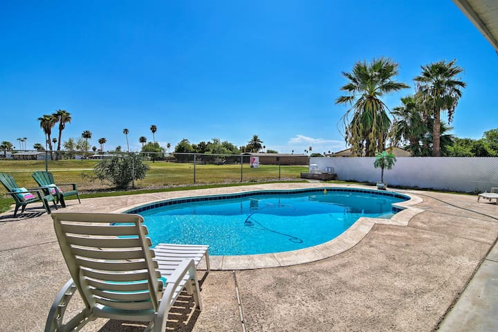 NEW! Mesa Home on Desert Sands Course - A/C & Pool
