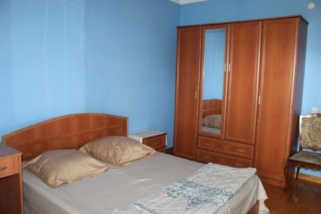 Double bed,There is a condition, TV, bathroom