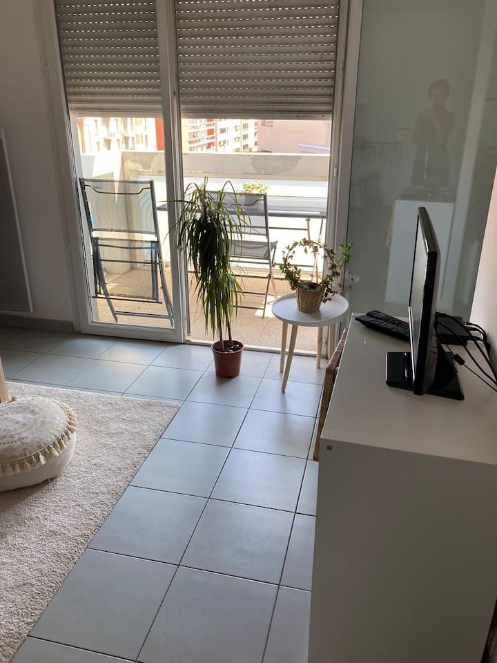 Appartement avec terrasse dans le 10 eme