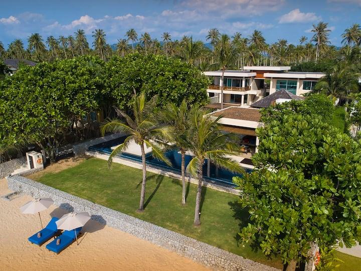 Beachfront Villa Yaringa, 3BR, Natai Beach