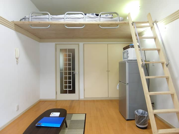 Private Bath & Kitchen Room Wifi /2 Bikes B101