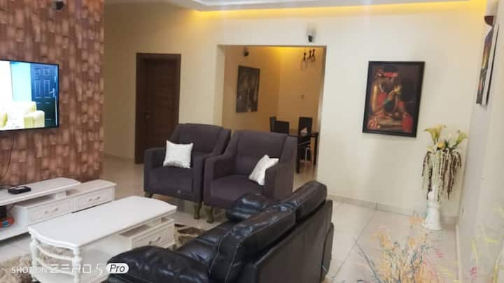 2 Bedroom Apartment Well Finished with WiFi