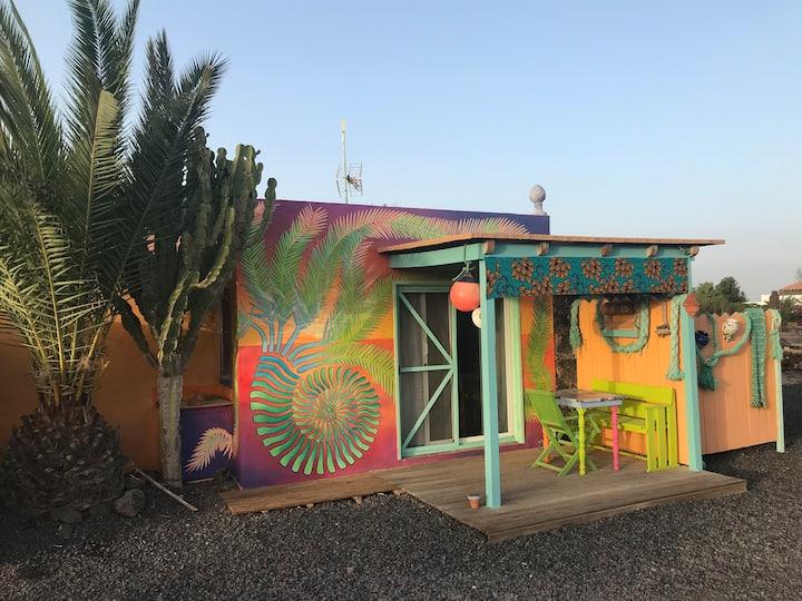 Casa Dede Appart a Lajares avec vue sur la nature
