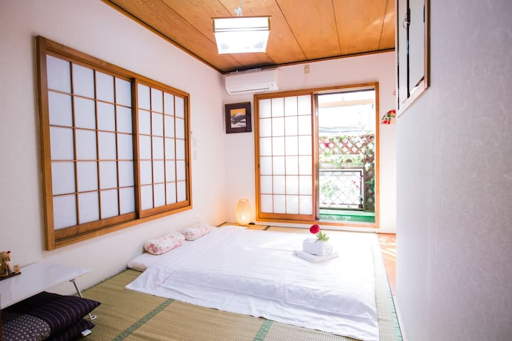 Japanese Style! Central Tokyo tatami room 和室日暮里 JR
