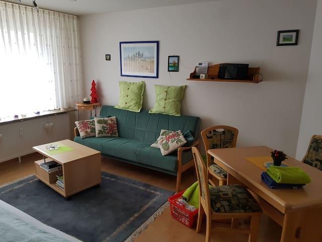 Appartment Studti 134, (Beuren), 1-Raum Appartement, 36qm, 1 Wohn-/Schlafraum, Südbalkon, max. 2 Personen