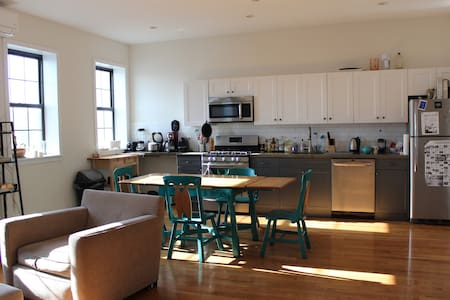 Sunny large loft&rooftop in Williamsburg - Brooklyn