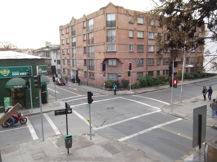 Balcony View (Corner of Almirante Barroso with Compañia)