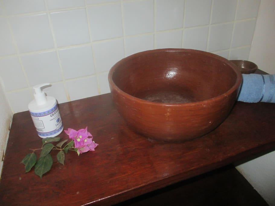 salles de bains privées,douche á l'italienne,wc