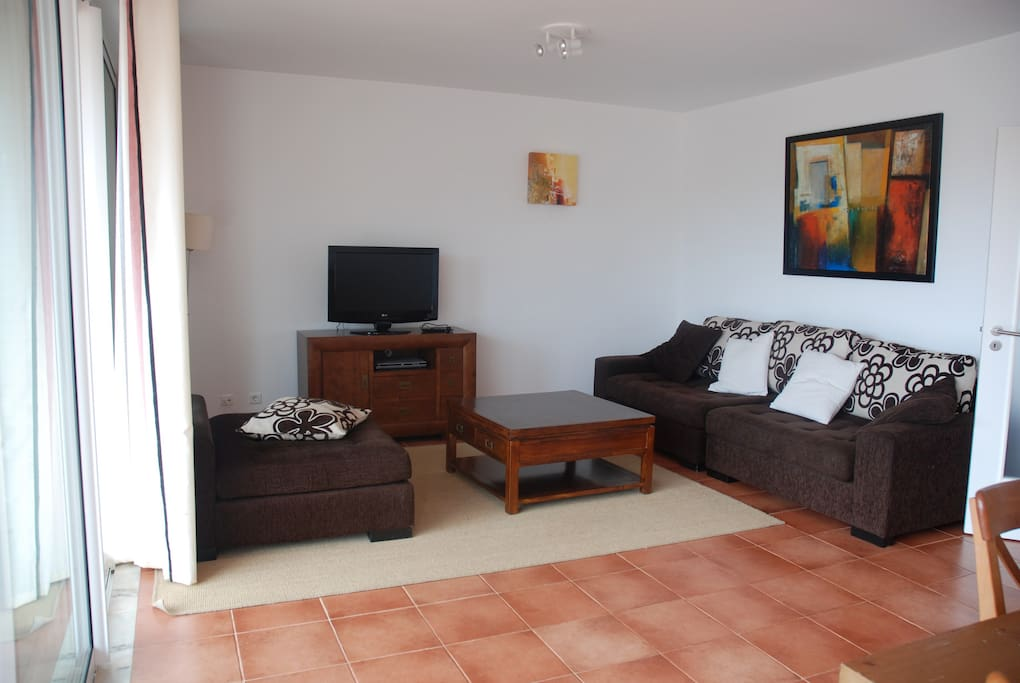 Living area TV lounge