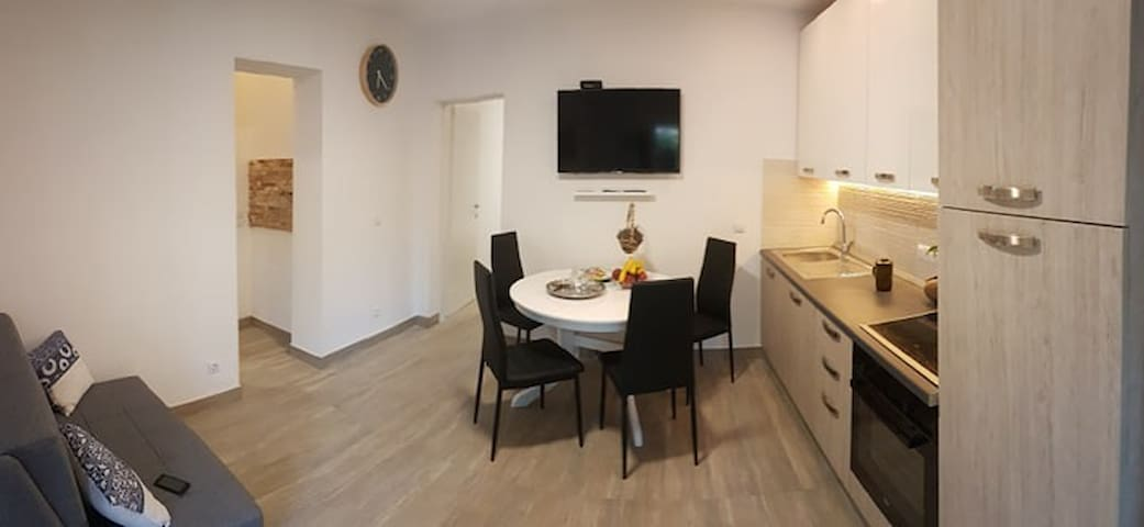 Niko Apt. near the sea (50 m from the beach) *4+1*