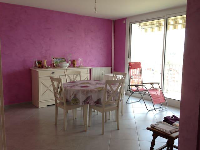 Appartement chaleureux, pratique, sans contrainte - Bourg-en-Bresse - Apartment