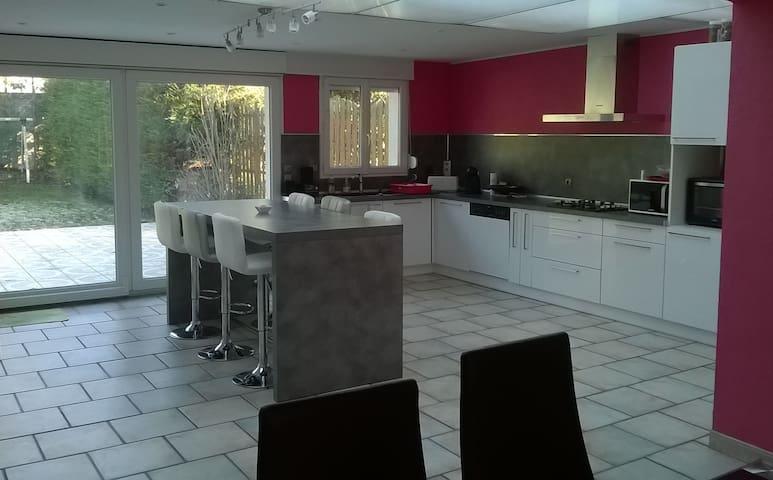 Chambre conviviale proche Cambrai - Raillencourt-Sainte-Olle - House