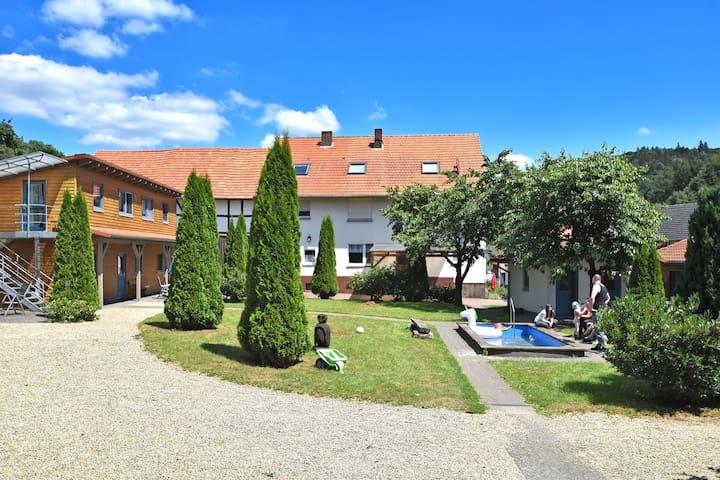Appartement ensoleillé près de la forêt à Huddingen