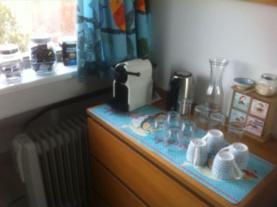 Coffee and Thea corner