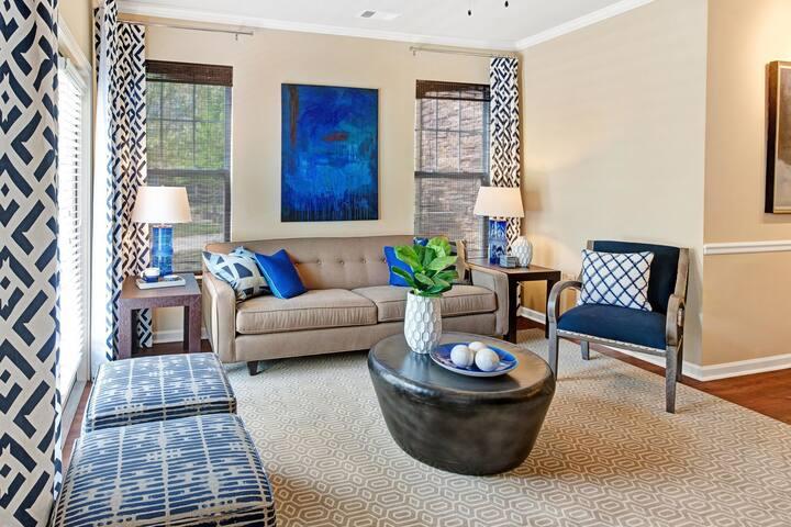 Brilliant apartment home | 2BR in Durham