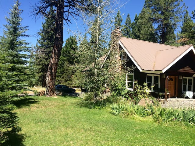 3 acre setting close to downtown Truckee - Truckee - Huis