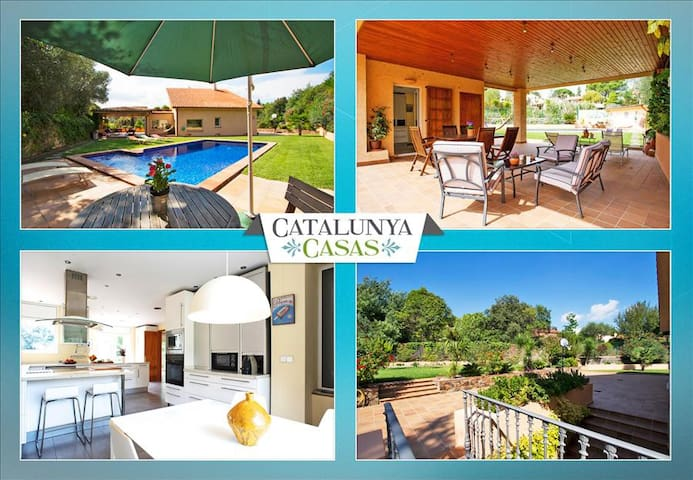 Glorious Villa Bellaterra for up to 13 guests, a short drive from Barcelona and the beach! - บาร์เซโลนา - วิลล่า