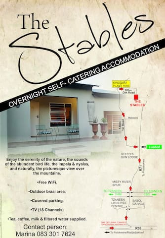 THE STABLES - Tzaneen - Natur-Lodge