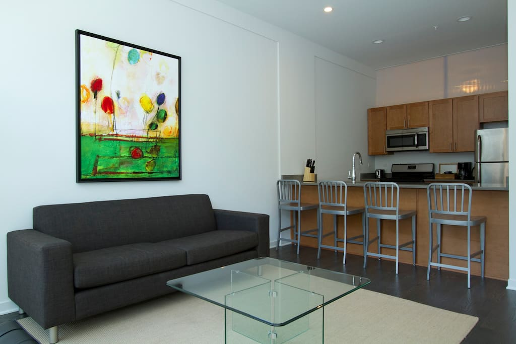 Contemporary 2br In Lincoln Park By Sonder Apartments For Rent In Chicago Illinois United States