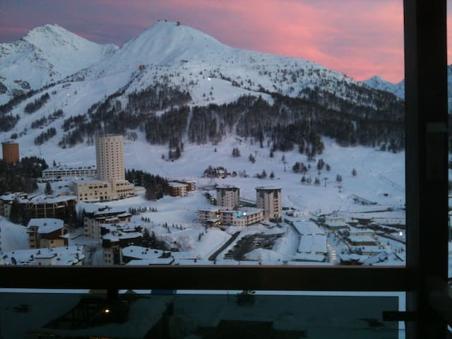 Apartment with beautiful view - Colle Sestriere - Daire