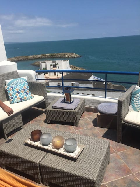 Apartamento Casablanca, vista privilegiada al mar