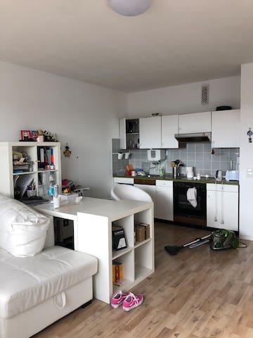 Super schöne Wohnung mit Rheinblick im Zentrum